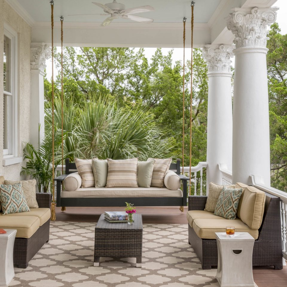 living room porch structure home Patio outdoor structure house interior designer chair Courtyard outdoor furniture