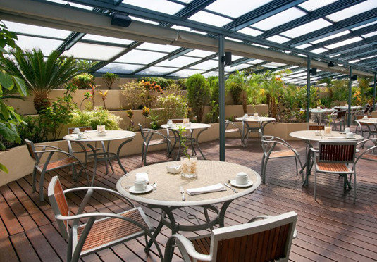 chair property outdoor structure Resort Patio orangery backyard Courtyard