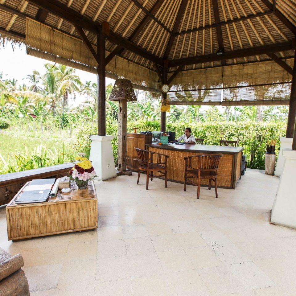 property building Resort Villa outdoor structure backyard home cottage porch farmhouse Courtyard Patio hacienda stone