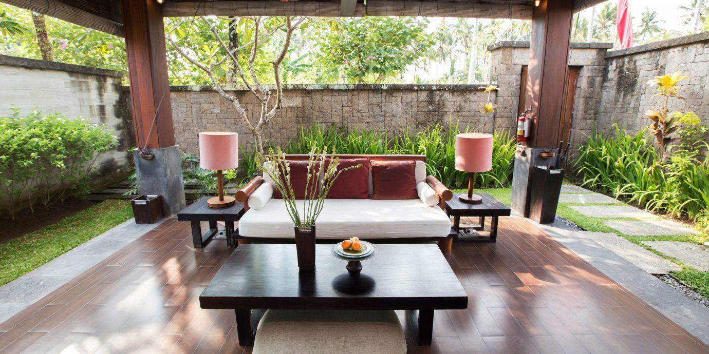 property home backyard outdoor structure Villa Courtyard porch cottage hacienda Resort Patio yard farmhouse