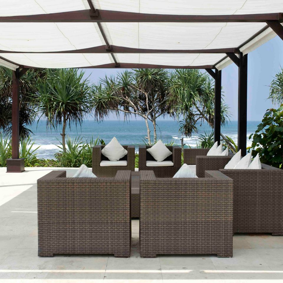 tree property outdoor structure pergola gazebo backyard Patio Villa porch canopy wicker Courtyard shade