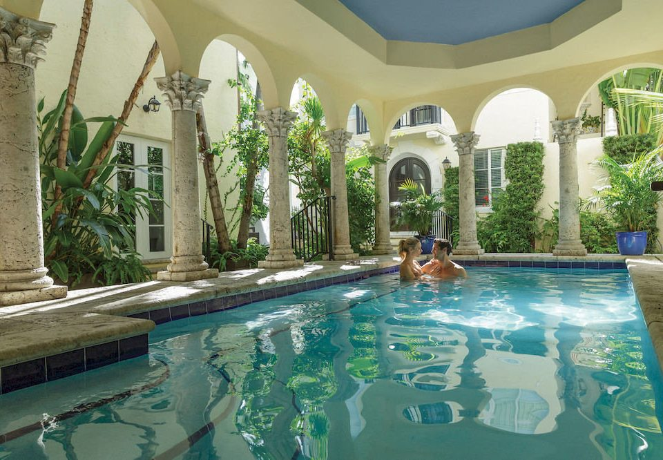 swimming pool property leisure building Resort mansion Villa reflecting pool backyard hacienda resort town Courtyard Pool