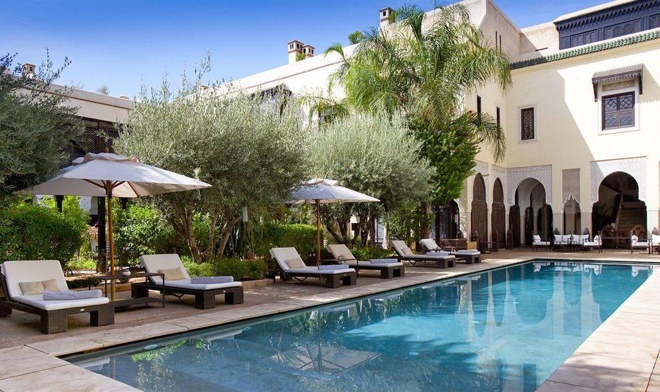 sky tree building Resort swimming pool property leisure Villa condominium Pool backyard mansion hacienda Courtyard swimming