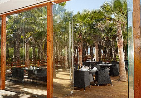 tree building restaurant Resort home arecales outdoor structure Courtyard