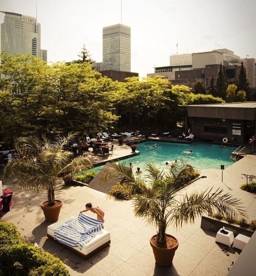 tree leisure condominium swimming pool Resort home plaza Courtyard mansion