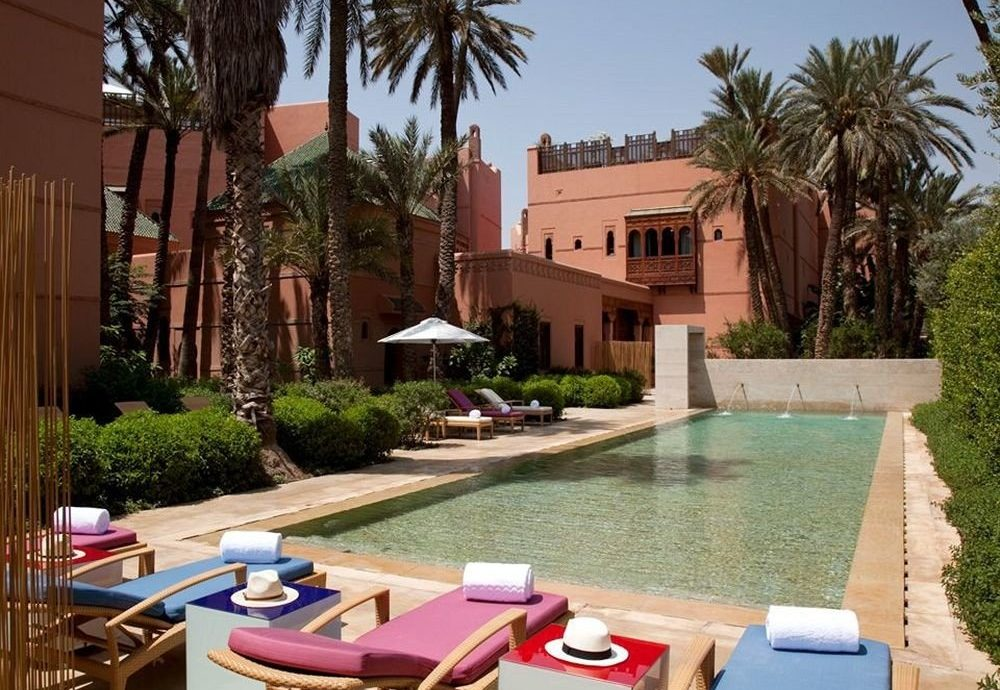 tree property leisure building Resort Villa home swimming pool hacienda Courtyard backyard condominium lawn mansion