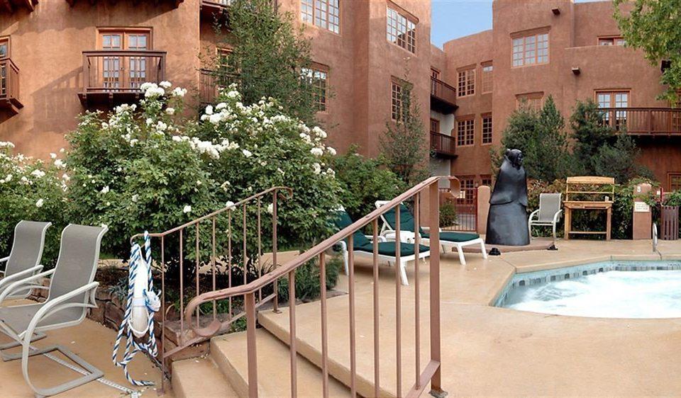 building chair property Courtyard home backyard Resort plaza Villa mansion