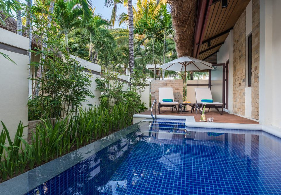 swimming pool property leisure Resort condominium Villa backyard Courtyard cottage