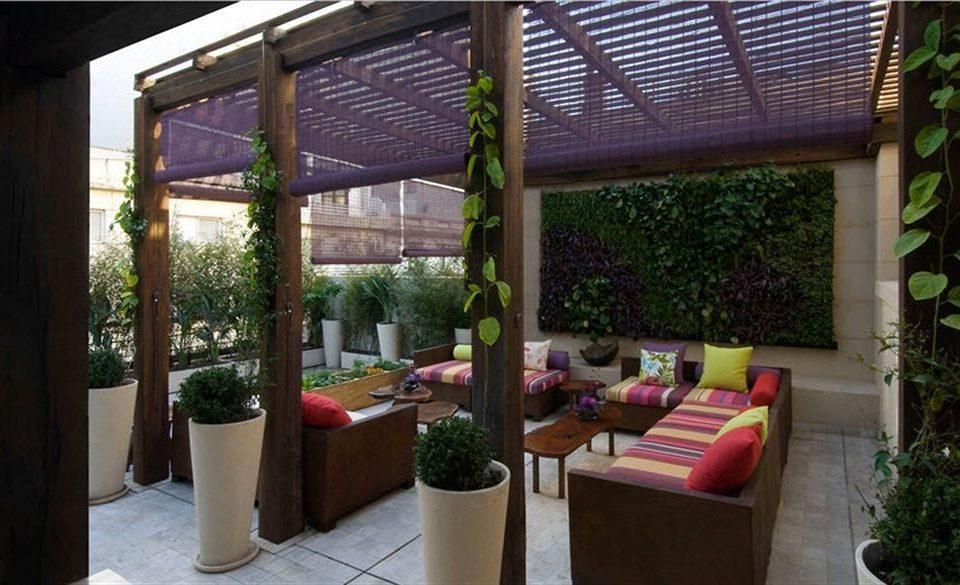 property outdoor structure Resort porch pergola cottage Villa backyard Courtyard