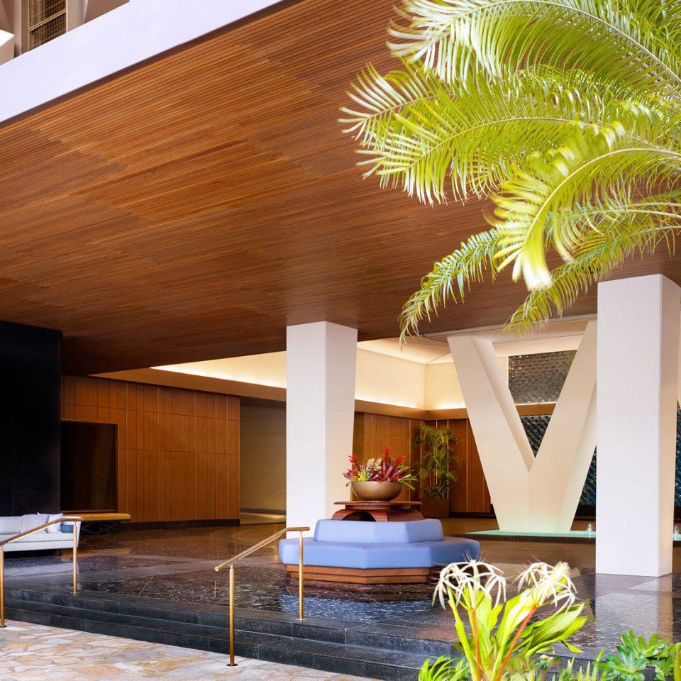 plant property house building home Villa Courtyard backyard Resort condominium outdoor structure porch