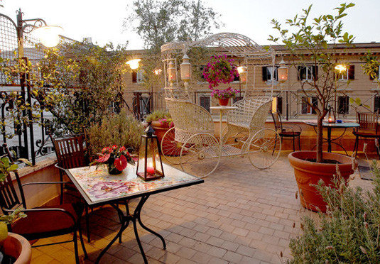 sky property Courtyard plaza restaurant backyard home hacienda outdoor structure yard palace Villa Resort