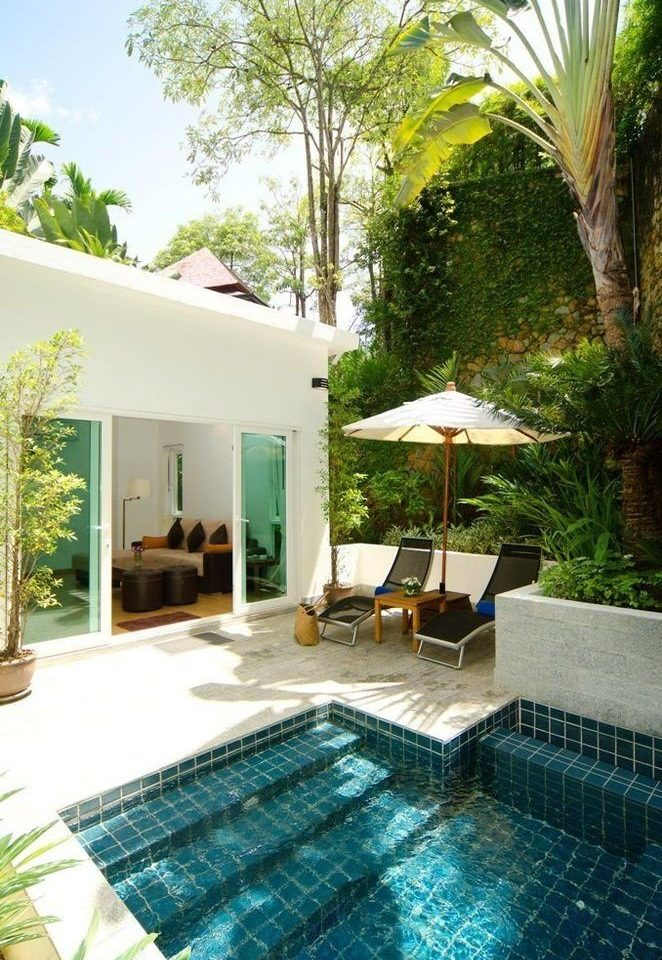 tree swimming pool property Villa condominium backyard Resort Courtyard home cottage mansion eco hotel outdoor structure