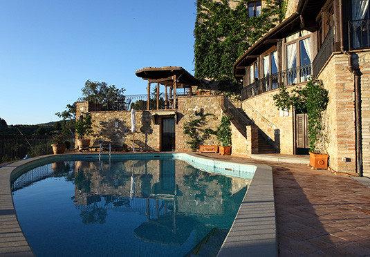 leisure property swimming pool house home Resort mansion Villa backyard Courtyard hacienda
