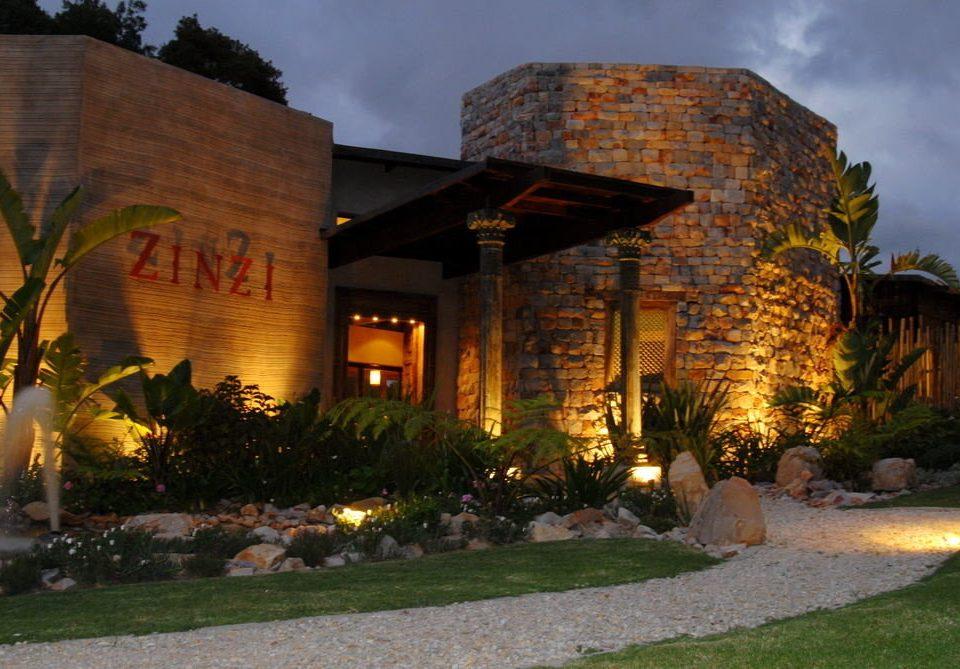 grass property house building home Resort hacienda Villa landscape lighting mansion Courtyard backyard