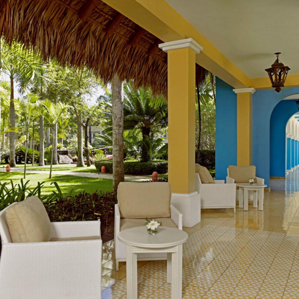 tree property Resort house Villa home hacienda mansion Courtyard