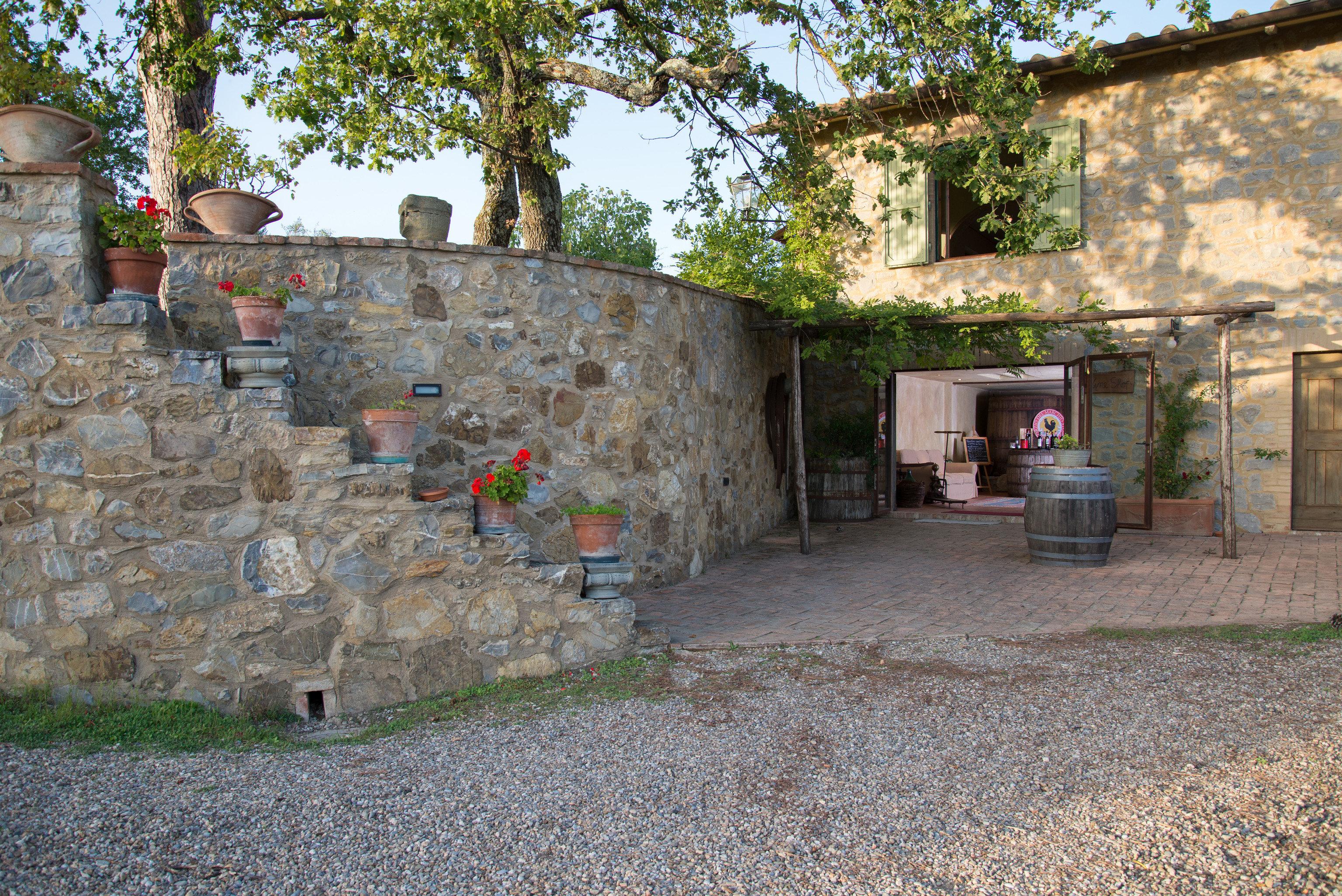 property stone building Town Village home cottage brick hacienda yard Courtyard Ruins house