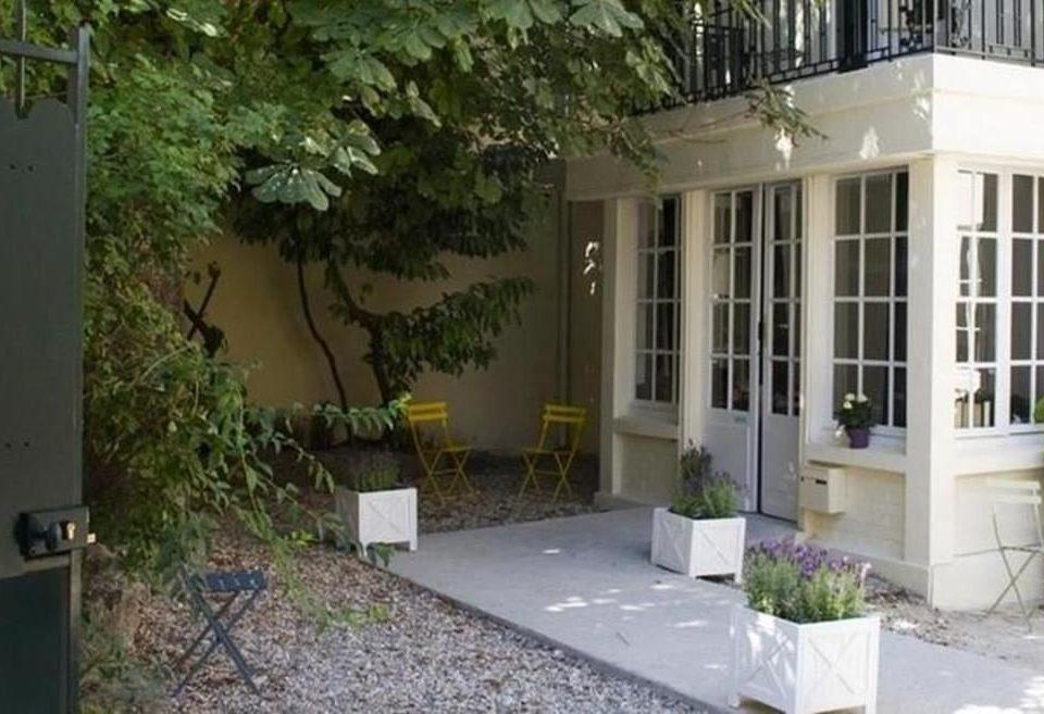 building property porch home condominium Courtyard Villa backyard cottage yard outdoor structure hacienda stone