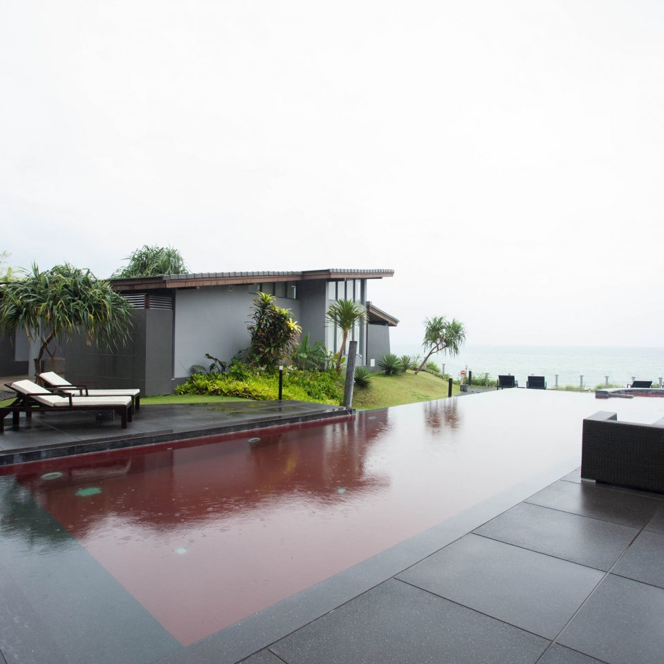property house swimming pool Villa condominium home backyard Courtyard hacienda