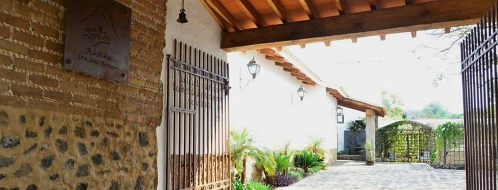 property building house home hacienda cottage Villa Courtyard farmhouse
