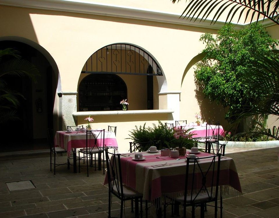 chair restaurant hacienda home Villa Courtyard