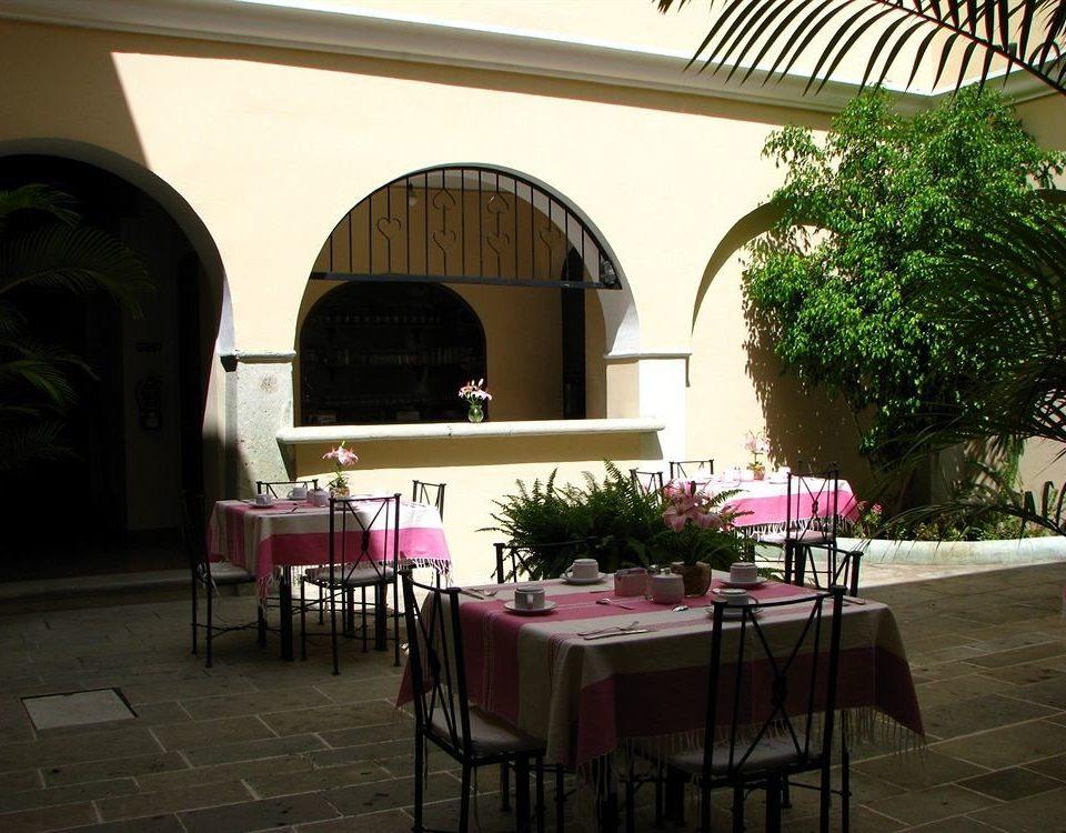 chair restaurant hacienda home Villa Courtyard
