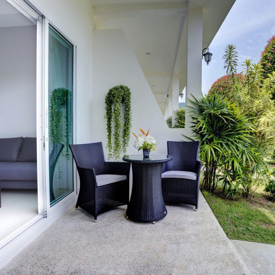 property house home condominium Villa cottage Courtyard plant