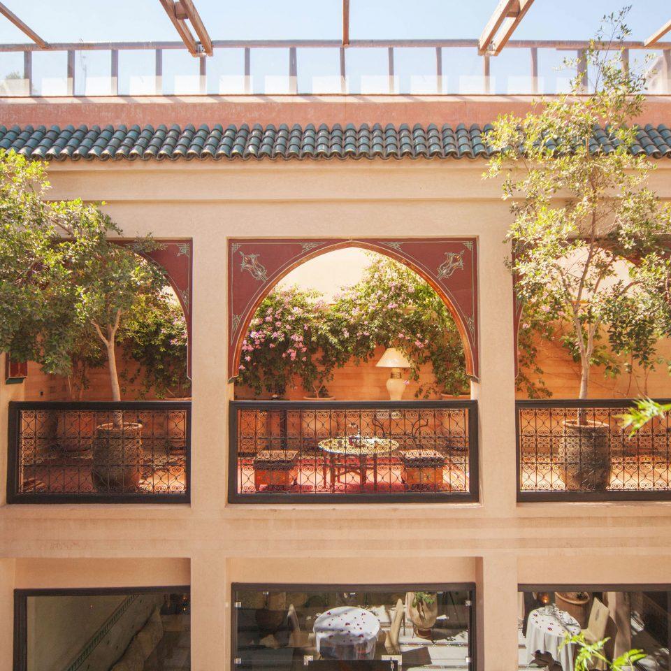 property home Courtyard outdoor structure orangery hacienda porch Villa