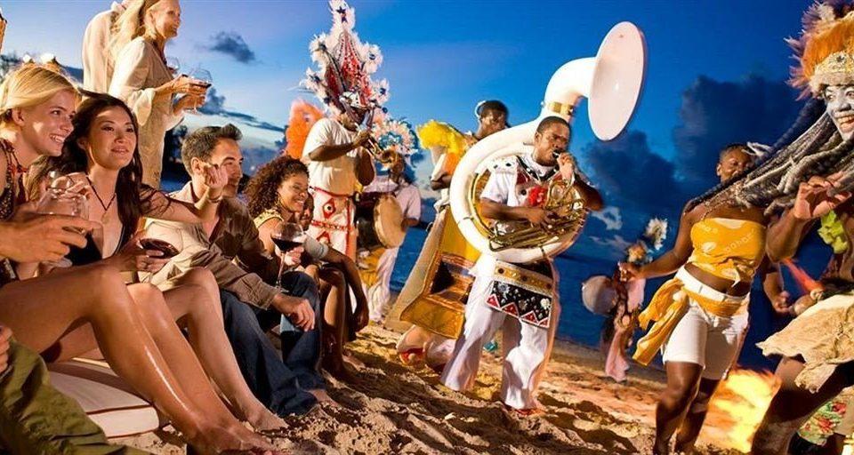 sky musical theatre mythology posing crowd