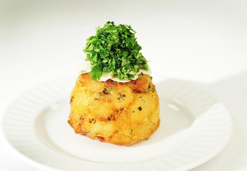plate food piece white cuisine fish vegetable meat dessert piece de resistance