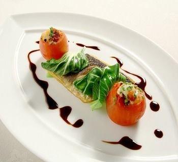 plate food white plant cuisine garnish hors d oeuvre fruit dessert piece de resistance