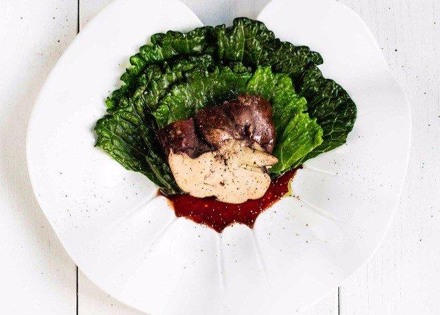 plate food white meat vegetable fish steak cuisine piece de resistance