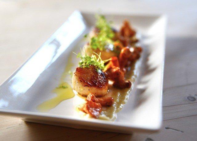 food plate square piece meat cuisine sense