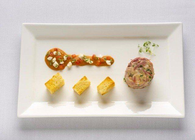 food plate cuisine square