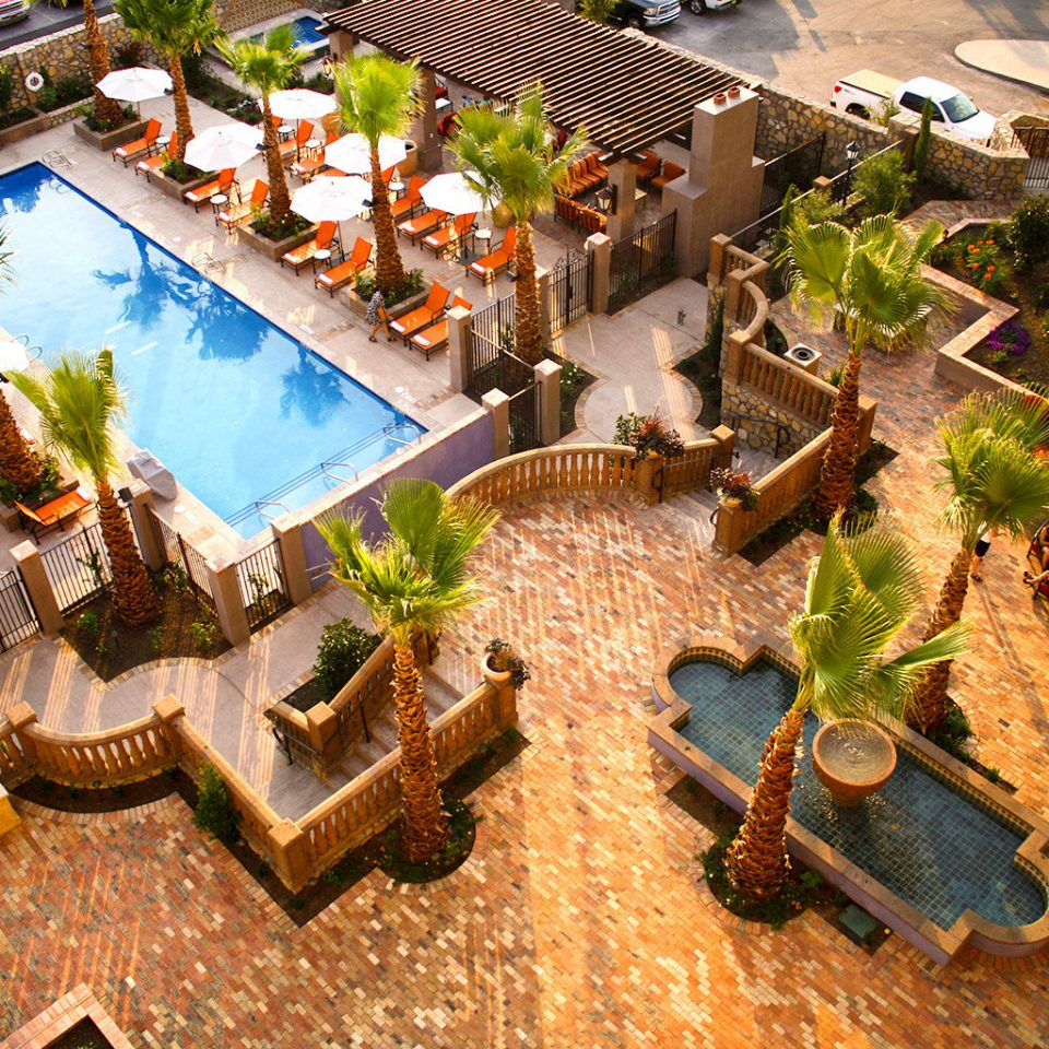 Cultural Desert Grounds Lounge Pool Resort screenshot aerial photography mansion