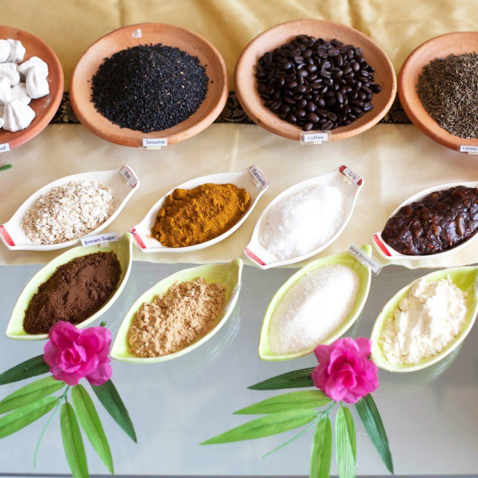 Cultural Dining Drink Eat food plate flower different dessert variety