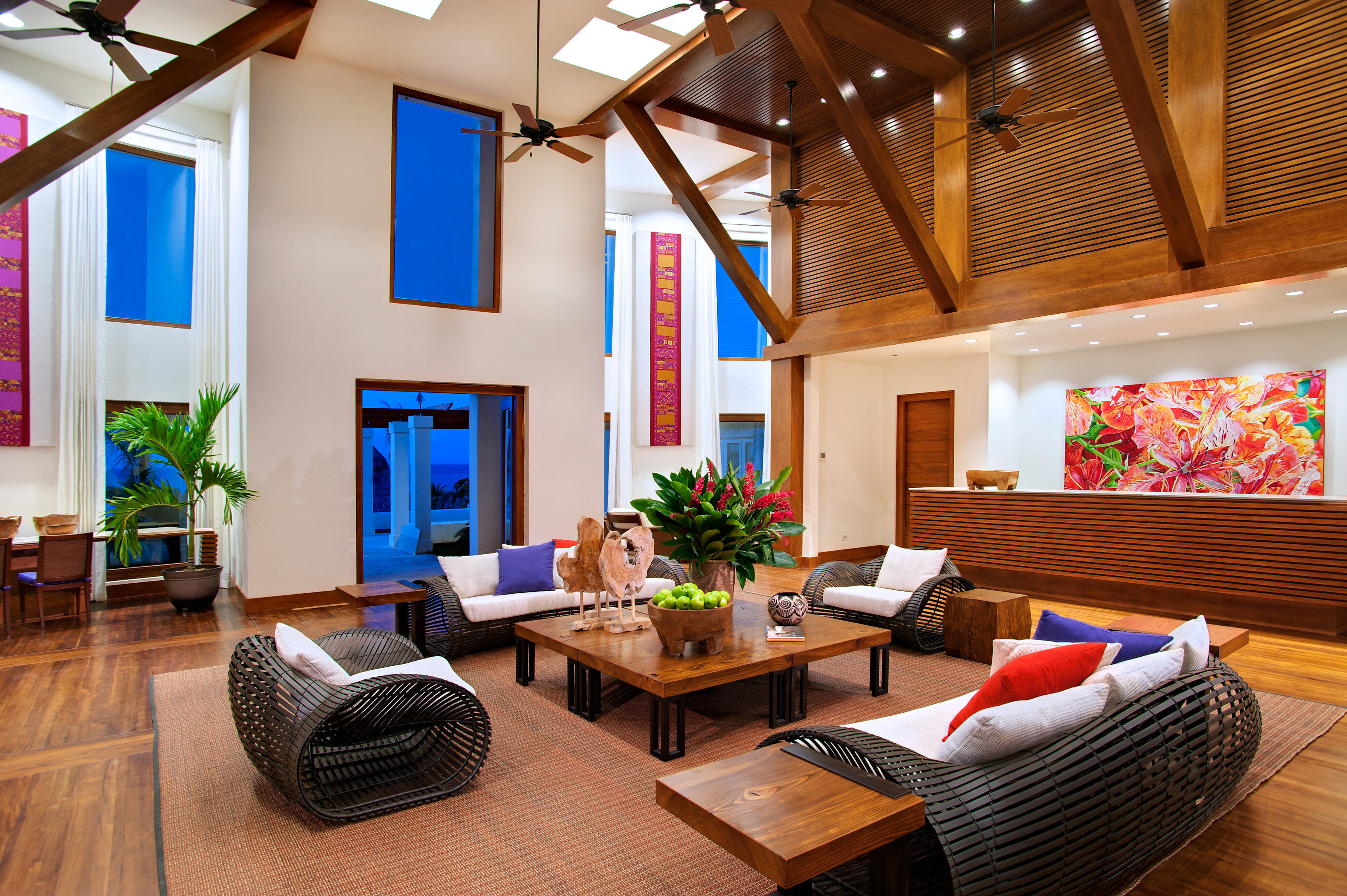 Cultural Eco Island Lobby Lounge Romance property living room home Resort cottage Villa