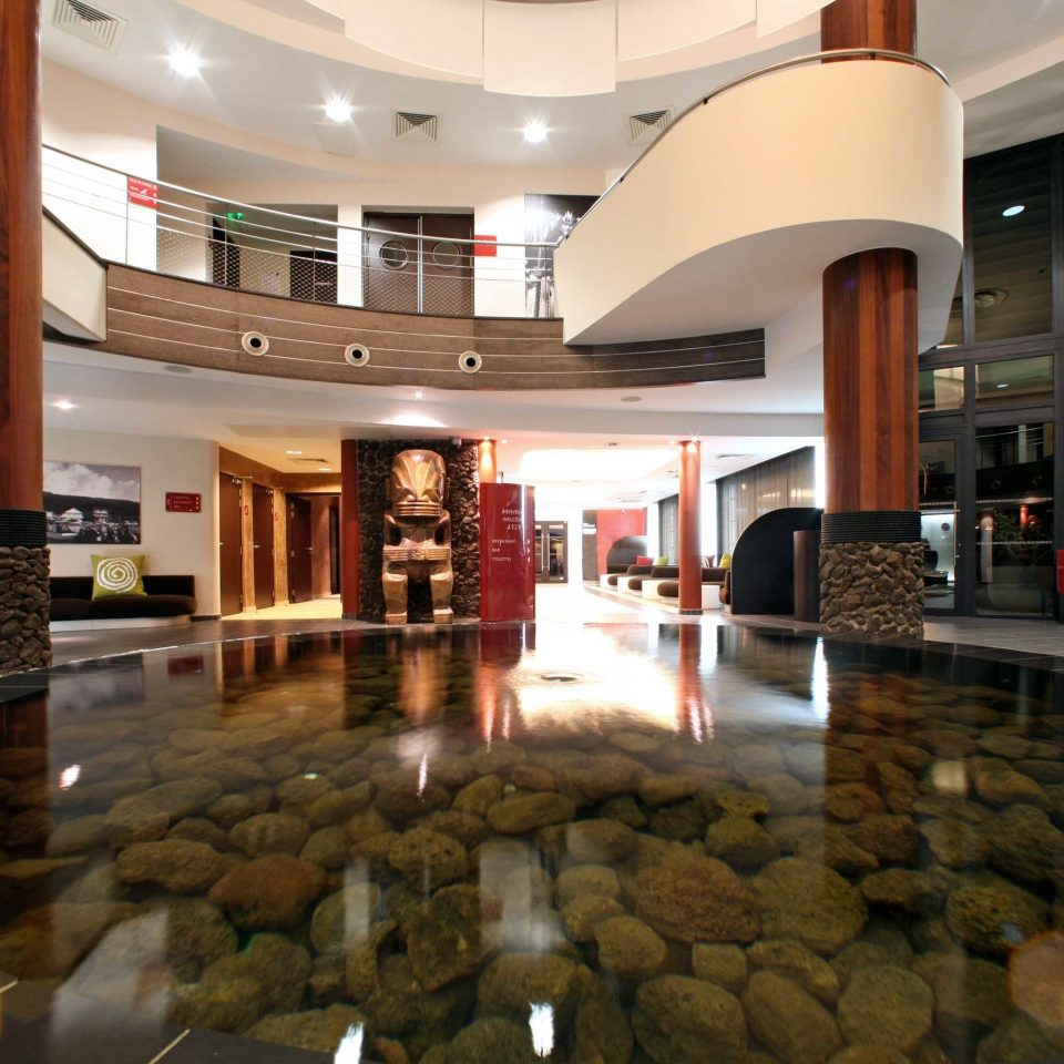 Cultural Eco Lobby Modern building shopping mall retail flooring stone