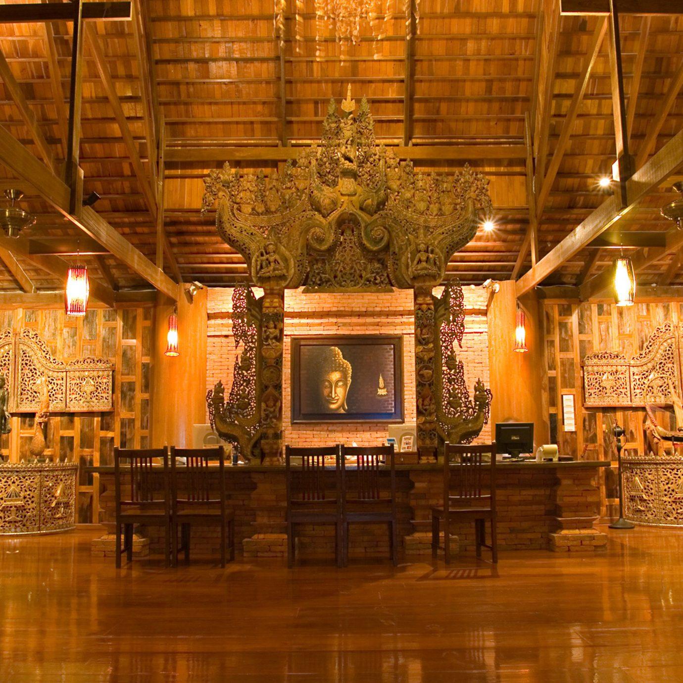 Cultural Honeymoon Jungle Lobby Lounge Tropical Waterfront function hall ballroom