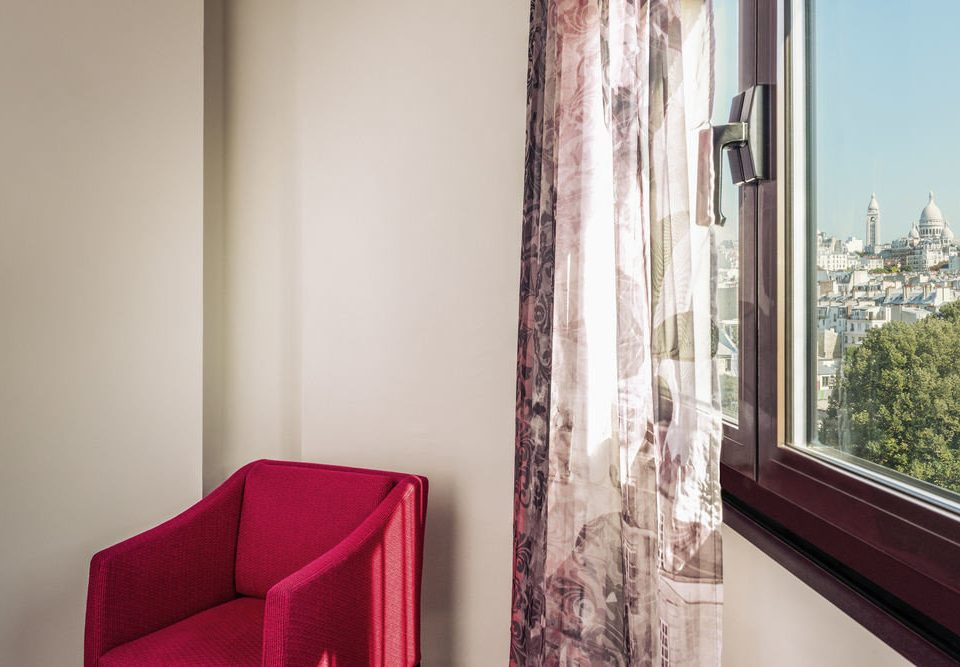 property red house home curtain window treatment living room