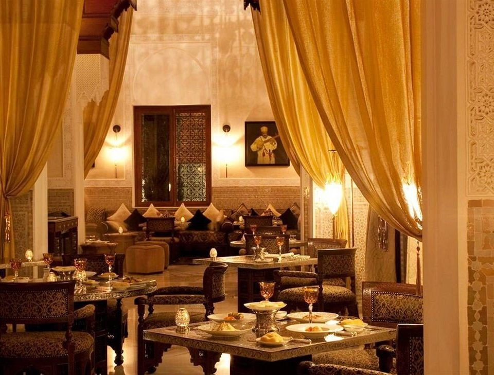 curtain restaurant