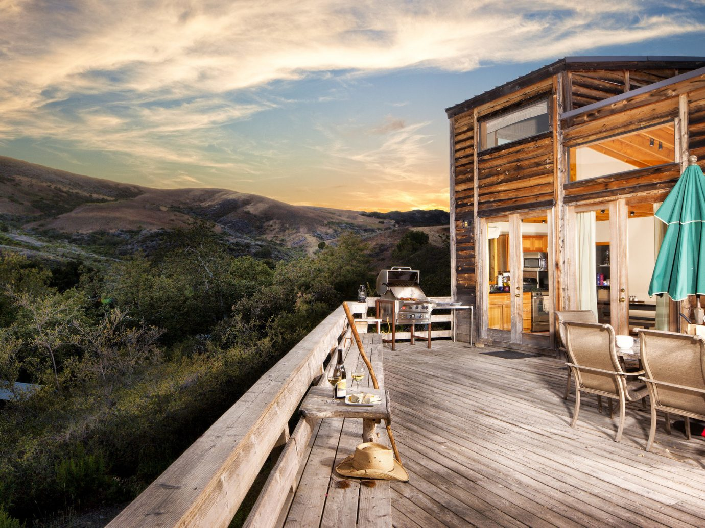 Boutique Hotels Fall Travel Hotels Outdoors + Adventure sky outdoor mountain Town vacation estate tourism wooden