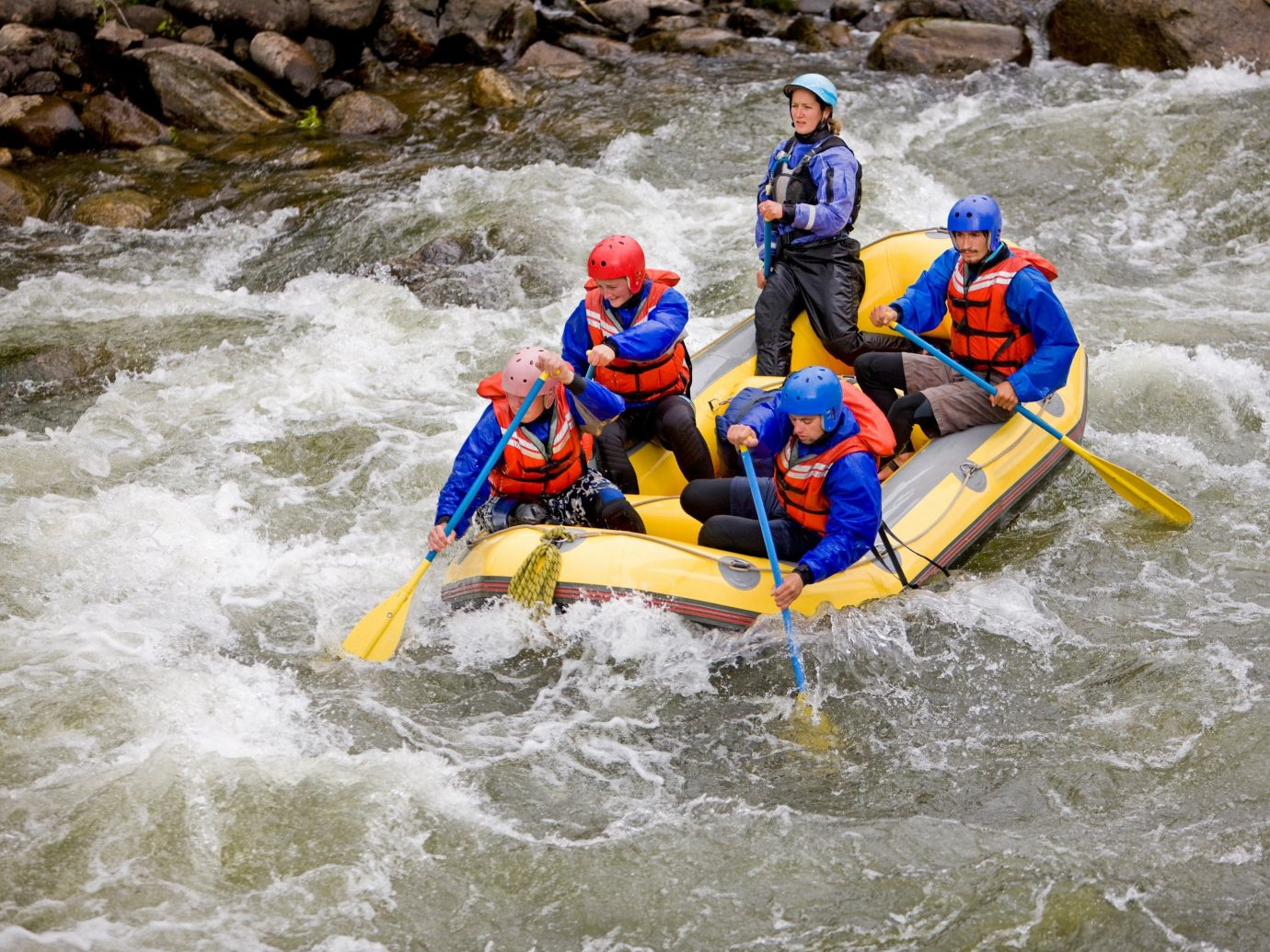 Health + Wellness Trip Ideas outdoor Raft water rafting sports water sport riding watercraft River yellow rapid boating recreation transport outdoor recreation extreme sport whitewater kayaking wave