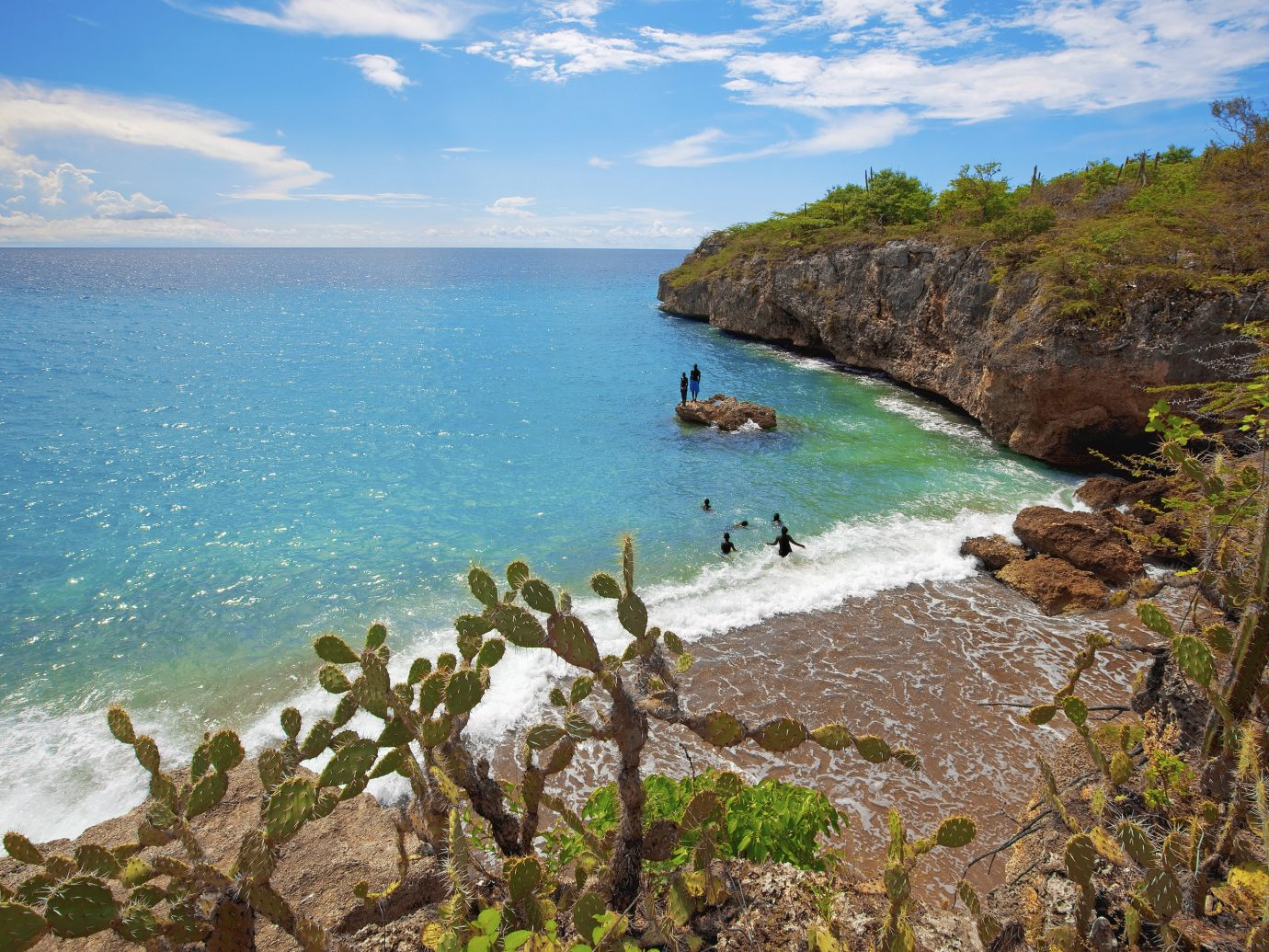Beaches caribbean Trip Ideas water outdoor Nature Coast rock geographical feature landform Sea body of water shore Beach cliff Ocean vacation bay cove cape terrain islet Island tropics Lagoon
