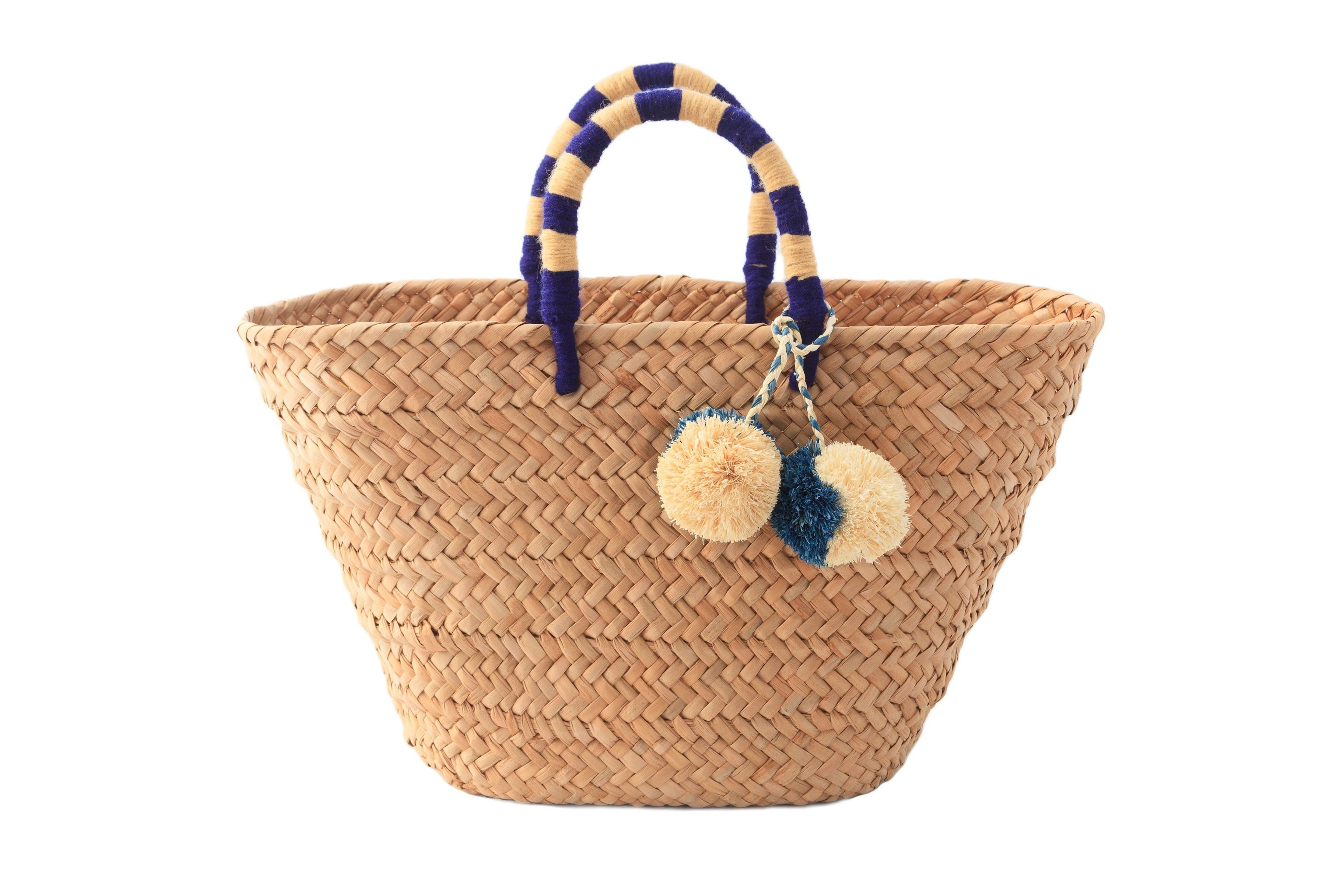 Style + Design basket container product straw handbag home accessories