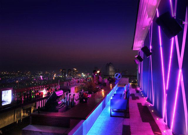 purple night light stage lighting nightclub dark
