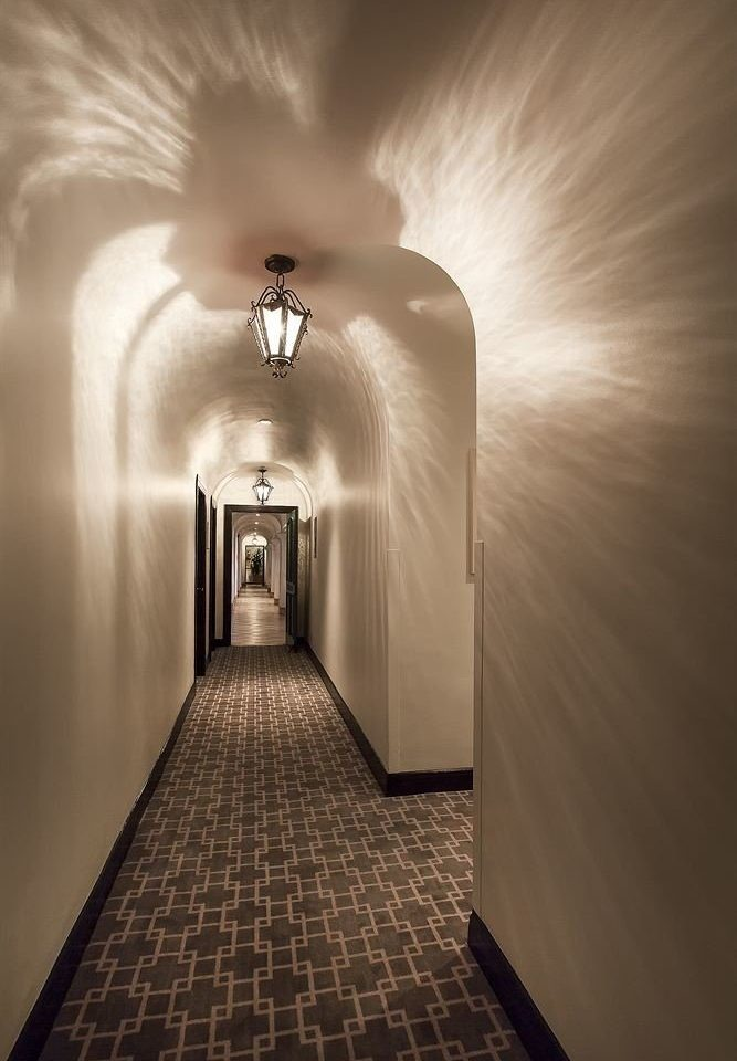 white light photography darkness lighting monochrome hall symmetry light fixture