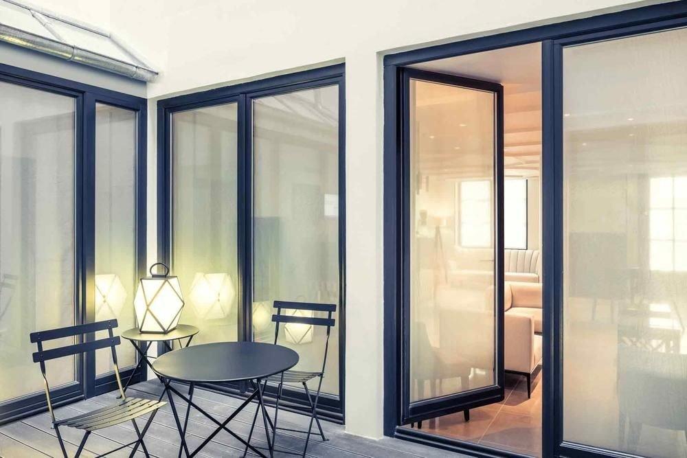 property door daylighting home