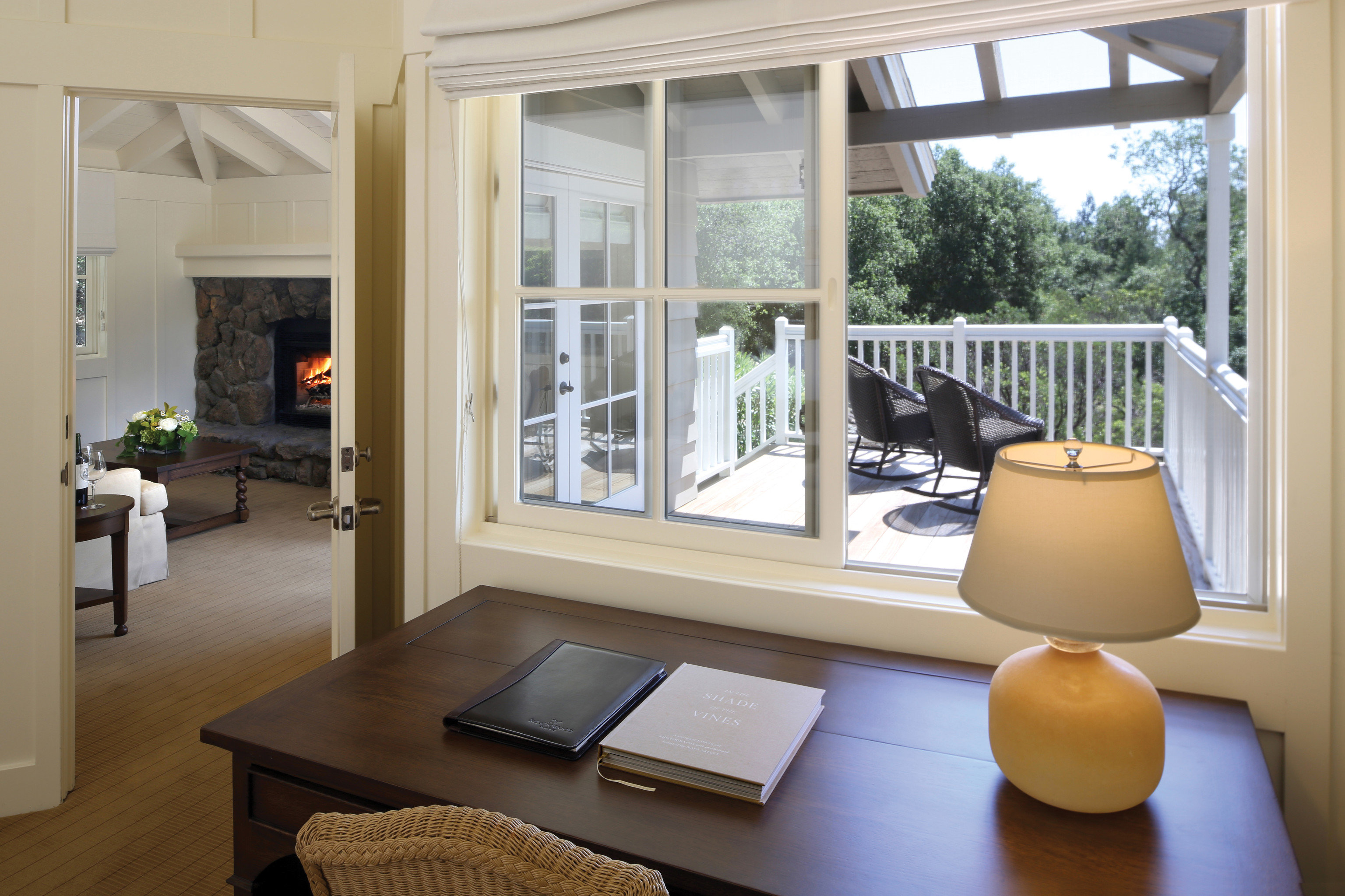 door house daylighting living room