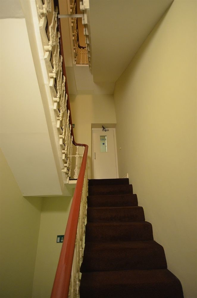 stairs step property house hardwood hall daylighting flooring