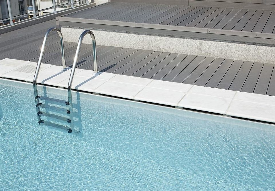 swimming pool handrail daylighting flooring roof outdoor structure